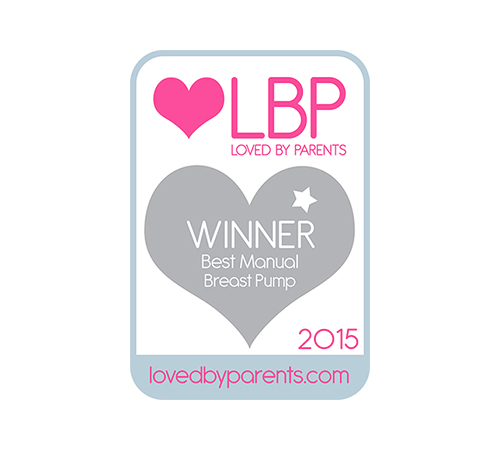 Loved By Parents Winner of Best Manual Breast Pump 2015