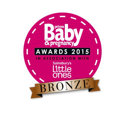 Winner of the Prima Baby & Pregnancy Award